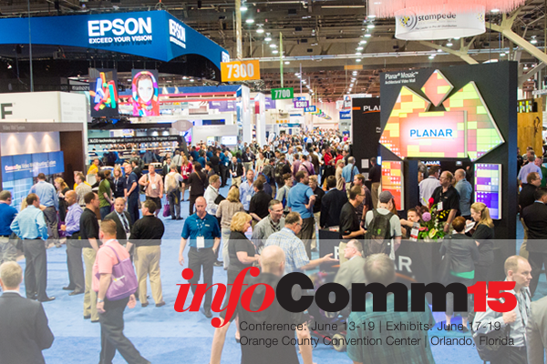 A travelogue about our trip to InfoComm15!