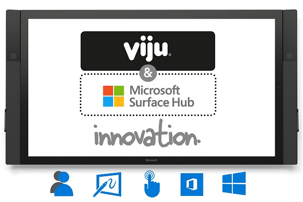 Microsoft selects Viju as a global partner to provide Surface Hub technology for collaborative workspaces