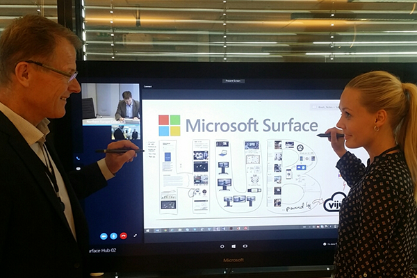 Viju hosts Microsoft Surface Hub roadshow events in Norway
