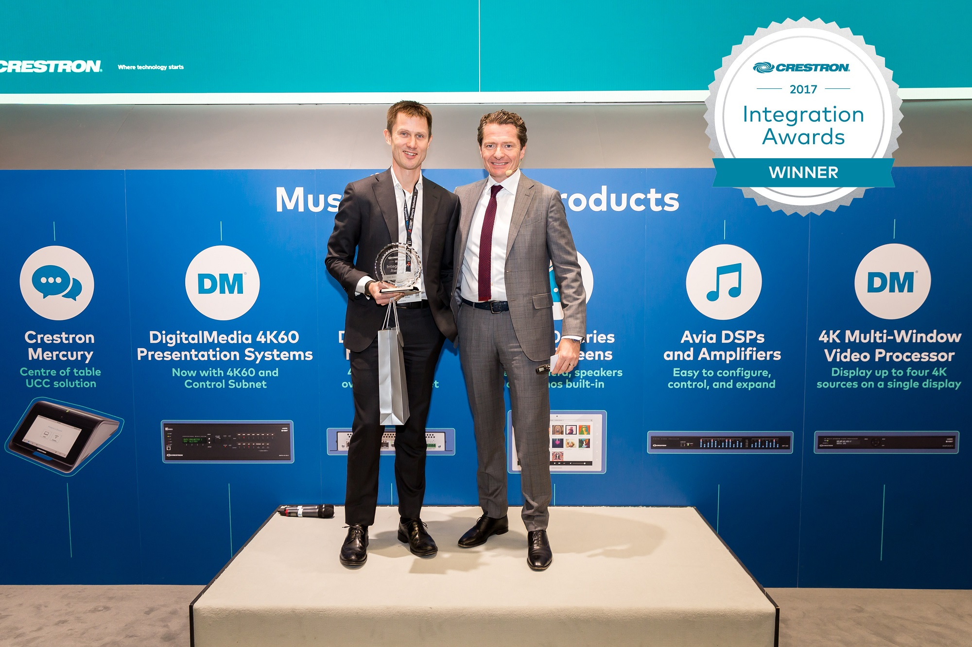 Viju wins Crestron Integration Award for Best GUI