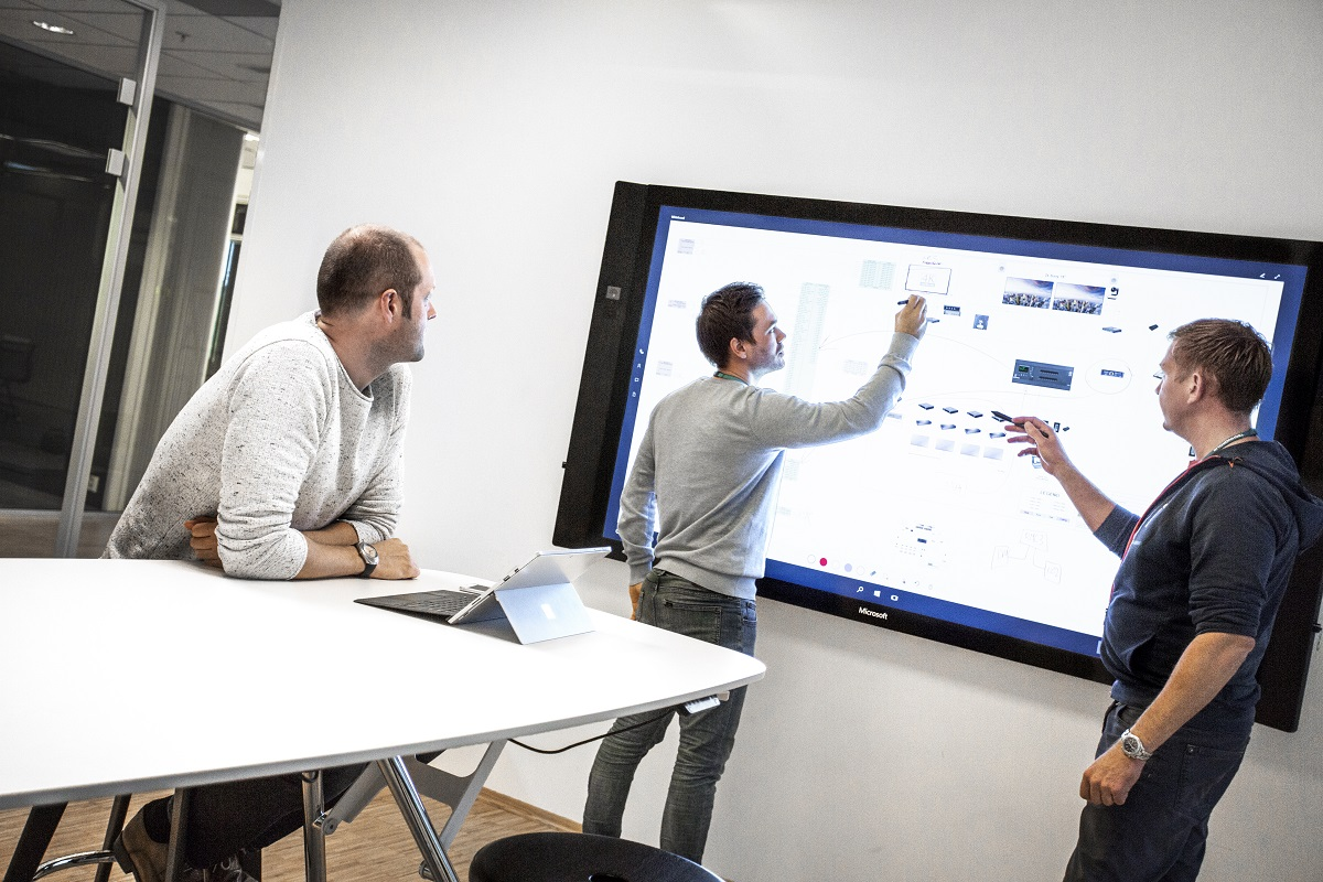 Microsoft Surface Hub enhances team collaboration