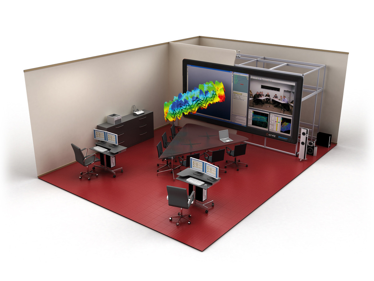 Premium display walls that offer truly immersive collaborative environments