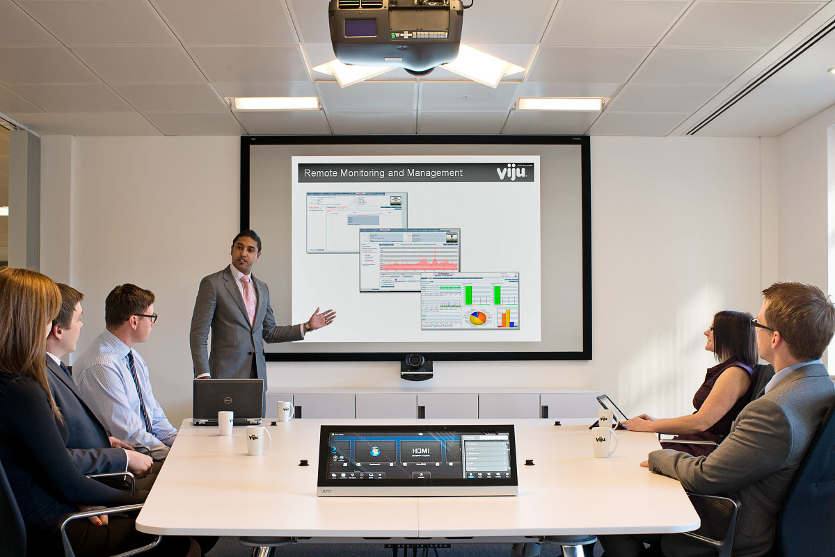 Remote Monitoring & Management of Viju Video Conferencing Software