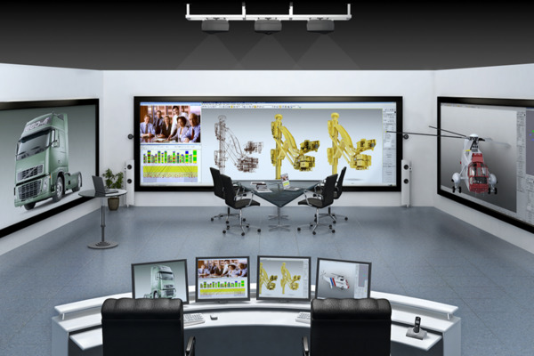 Integrated advanced visualisation solutions are engaging and interactive