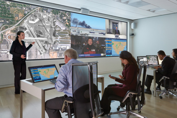 Visualisation System in Command and Control Center