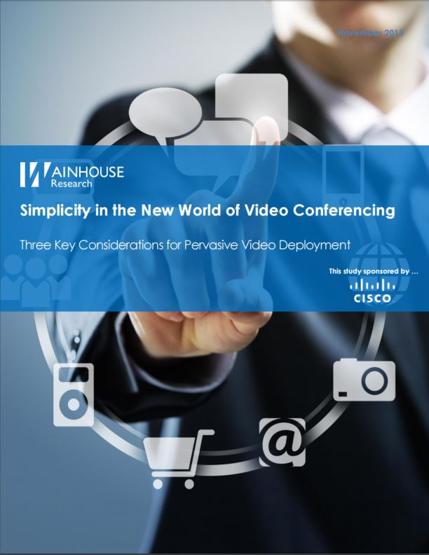 Simplicity in the New World of Video Conferencing