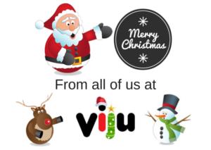 Viju ønsker dere alle en god jul og et godt nyttår,