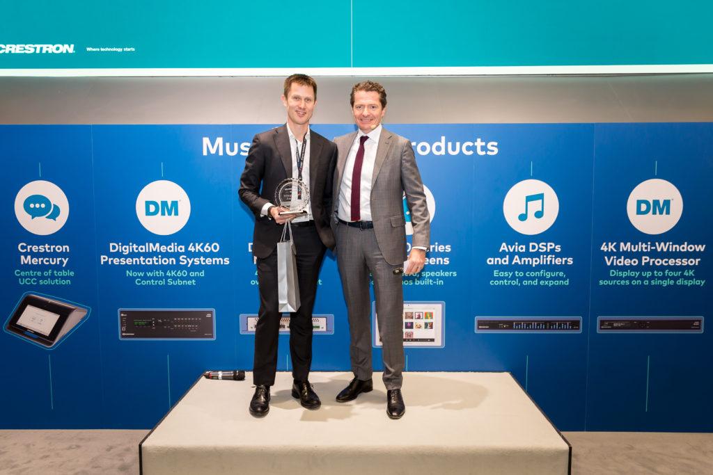 Viju vinner Crestron Integration Award